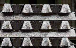 Cast aluminum alloy ingots