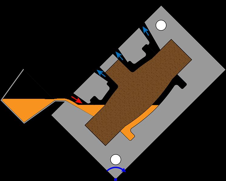 gravity die casting step 2