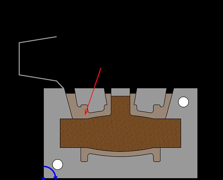 gravity die casting step 3