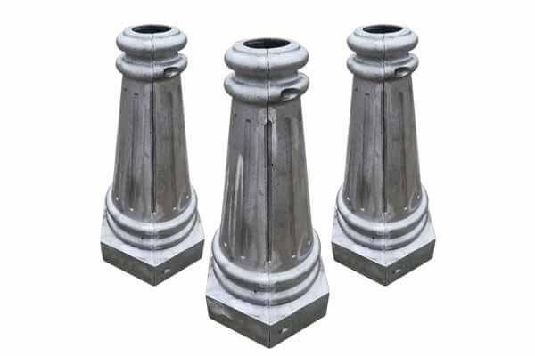Cast Aluminum Light Post Bases