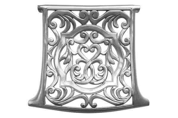 Cast Aluminum Garden Chair Seat