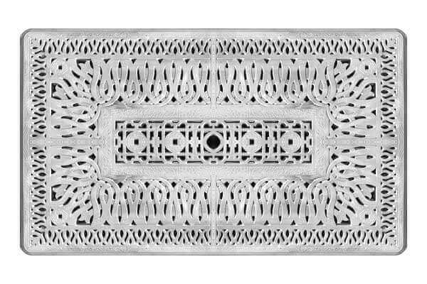 Cast Aluminum Garden Table Top
