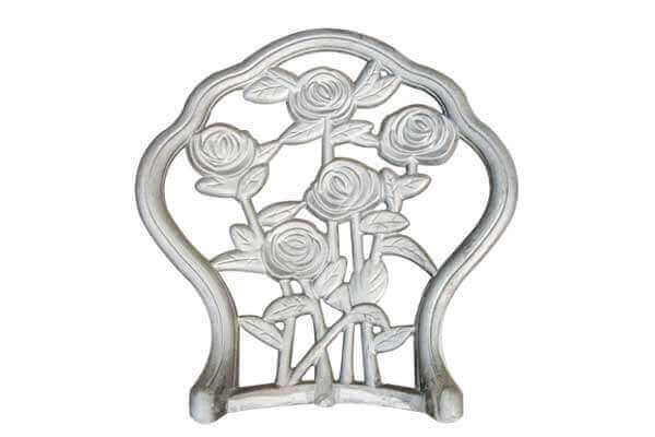 Cast Aluminum Outdoor Chair Back 1
