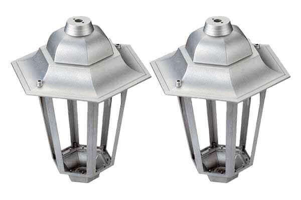 Garden Lamp Cases_Permonent Mold Casting