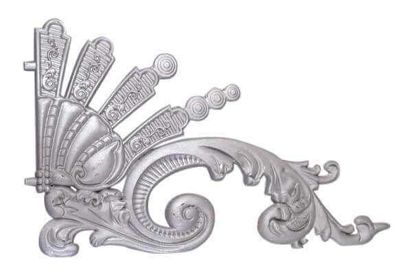 Ornamental Aluminum Castings for Gate 1